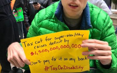 The Tax Cut and Jobs Act Signals Grave Harm to People with Disabilities. As a Person with Disabilities, I Am Scared.
