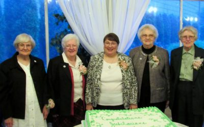 Let's Celebrate Our Jubilarians!